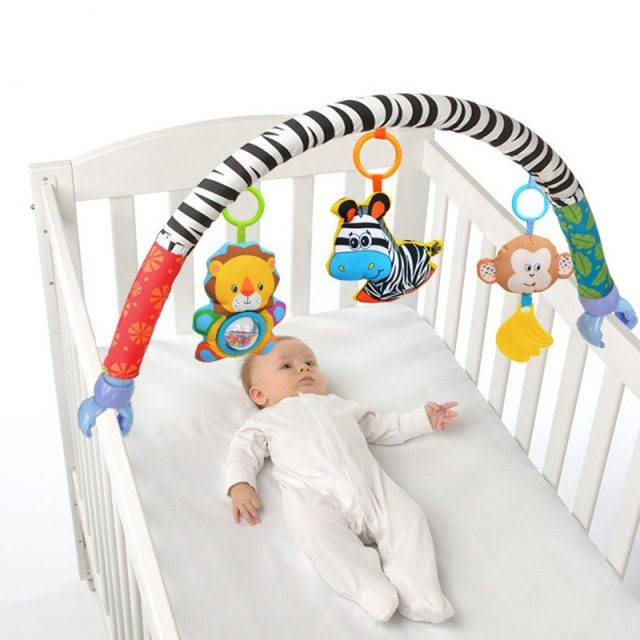 Baby's Bed Around Bumper Bar
