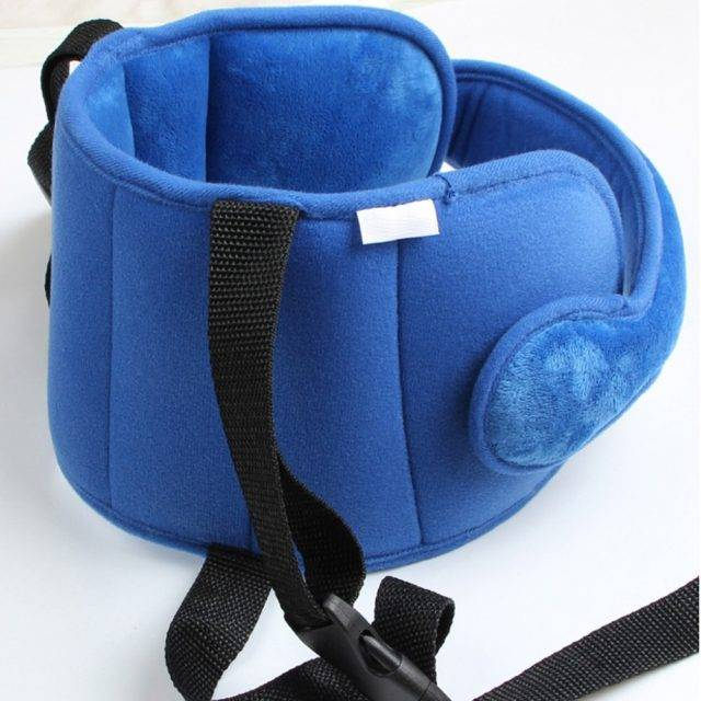 Baby's Polyester Car Seat Head Pillow
