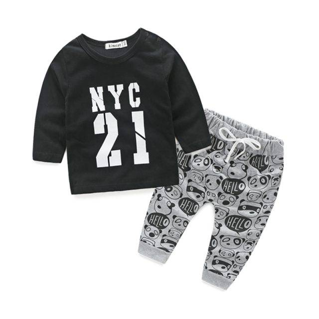 Baby Boy's Casual Clothing Set