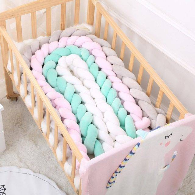 Long Knotted Baby's Bed Bumpers