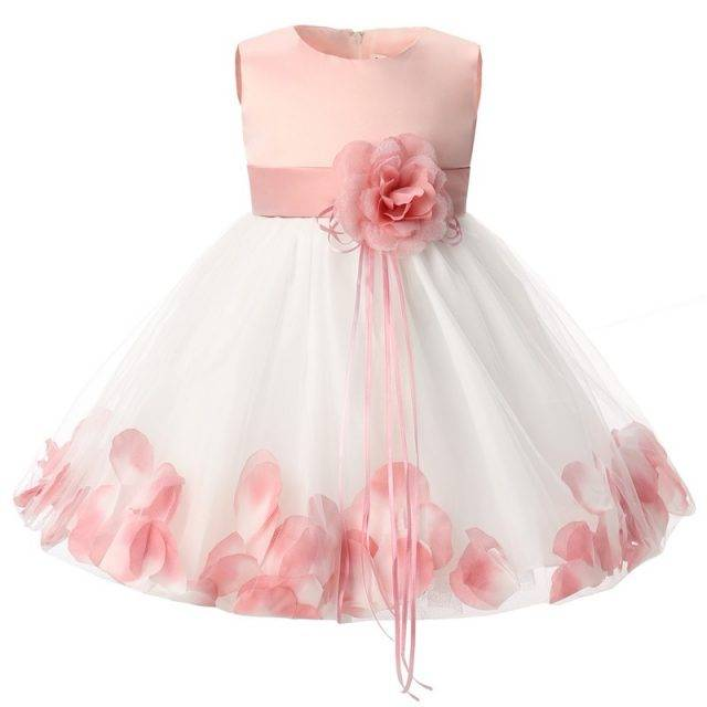 Luxury Festive Floral Baby Girl's Dress