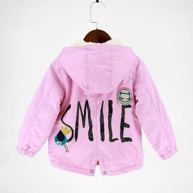 Causal Hooded Jacket for Girls