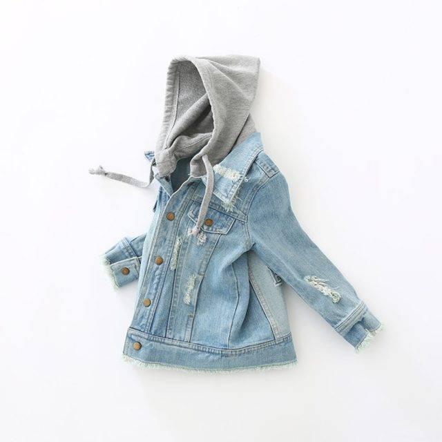 Baby Boy's Plain Cotton Jacket