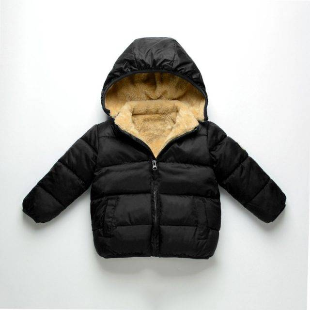Casual Warm Hooded Jacket for Kids