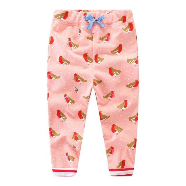 Loose Cotton Pants for Girls