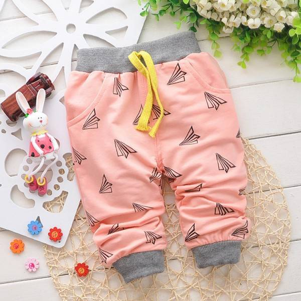 Cartoon Cotton Baby Pants 6-24 Month