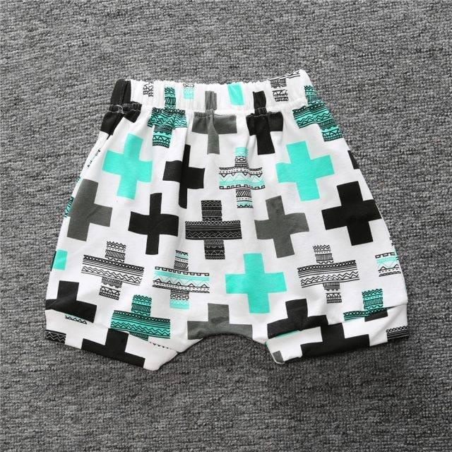 Baby's Printed Cotton Shorts