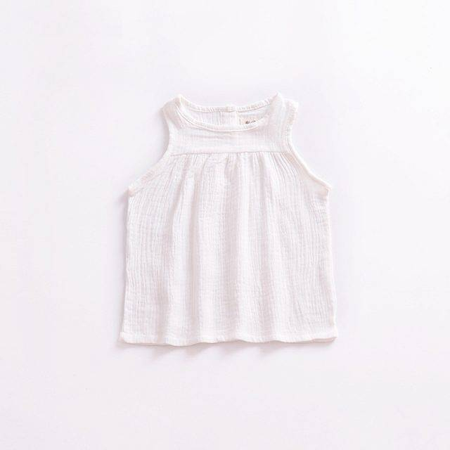 Girls' Summer Loose Top