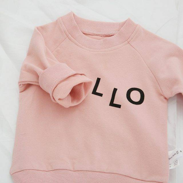 Autumn Cotton Baby Girls Long Sleeve T-Shirt