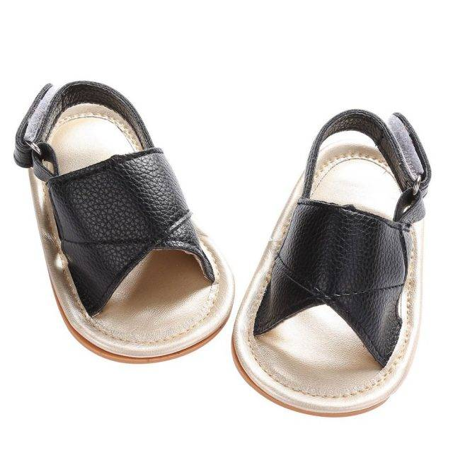 Stylish Summer Leather Baby Sandals
