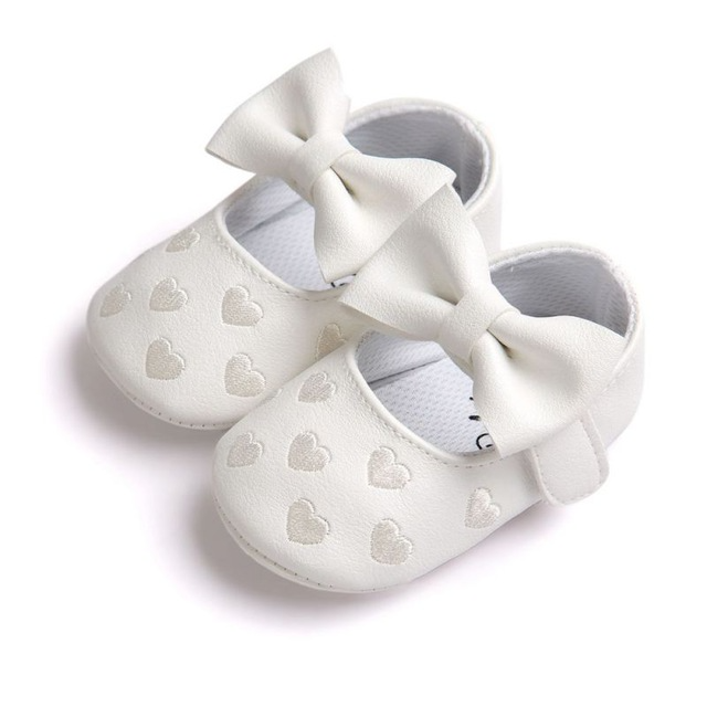 Lovely Patterned Leather Baby Girl's Shoes