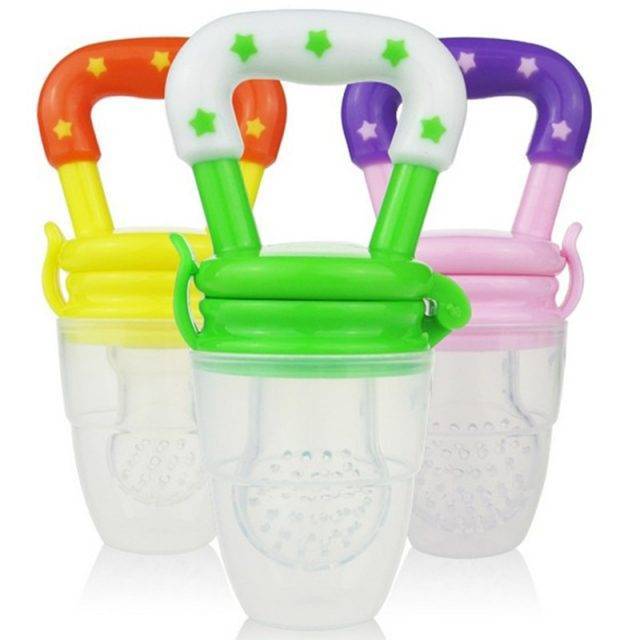 Silicone Baby Pacifiers for Food