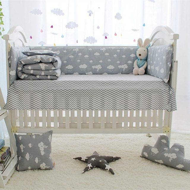 Cloud Printed Bedding Set