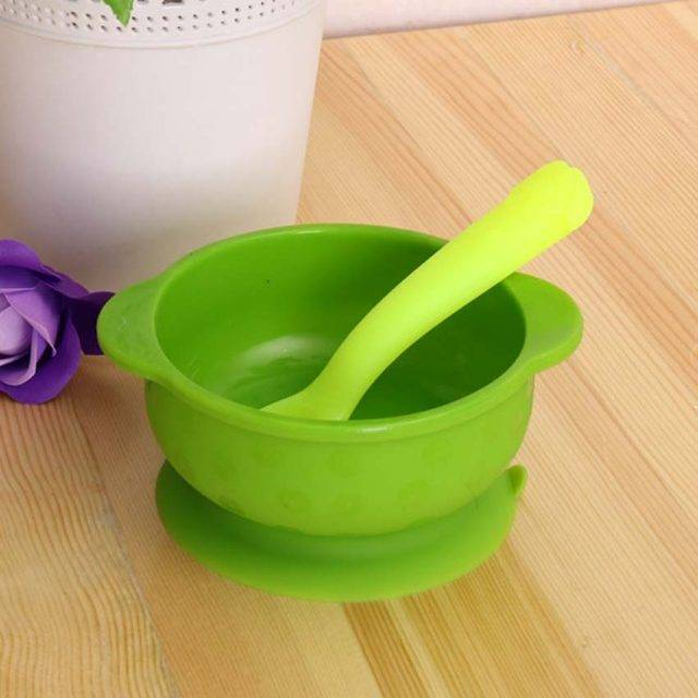Deep Silicone Bowl for Children