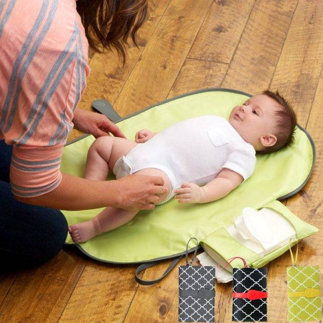 Useful Portable Foldable Waterproof Nappy Changing Mat