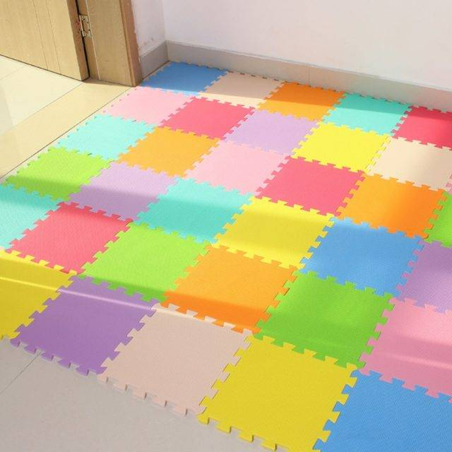 Colorful Puzzle Baby Play Mat Tiles Set