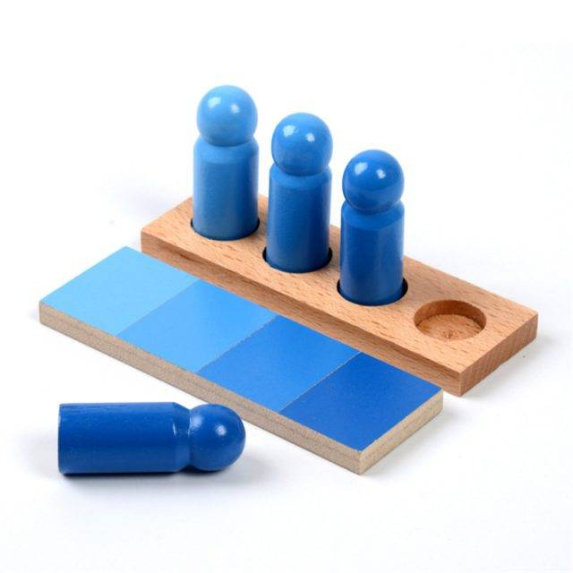 Montessori Sorting Color Resemblance Wooden Toys