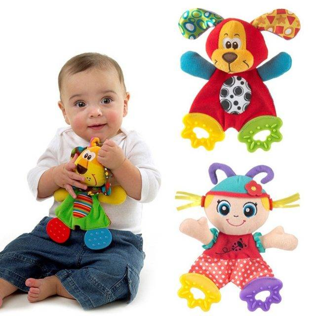 Baby's Plush Doll Teether