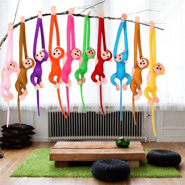 Funny Colorful Hanging Monkey Soft Toy