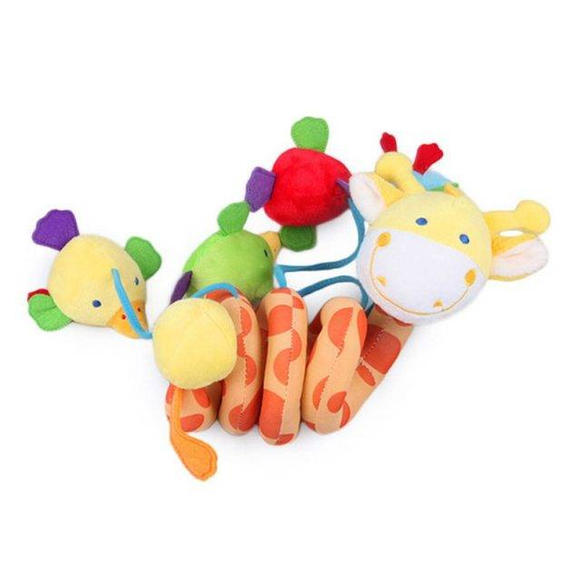 Plush Animals Baby Hanging Bed Toy