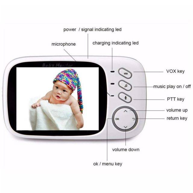 Wireless Baby Video Monitor