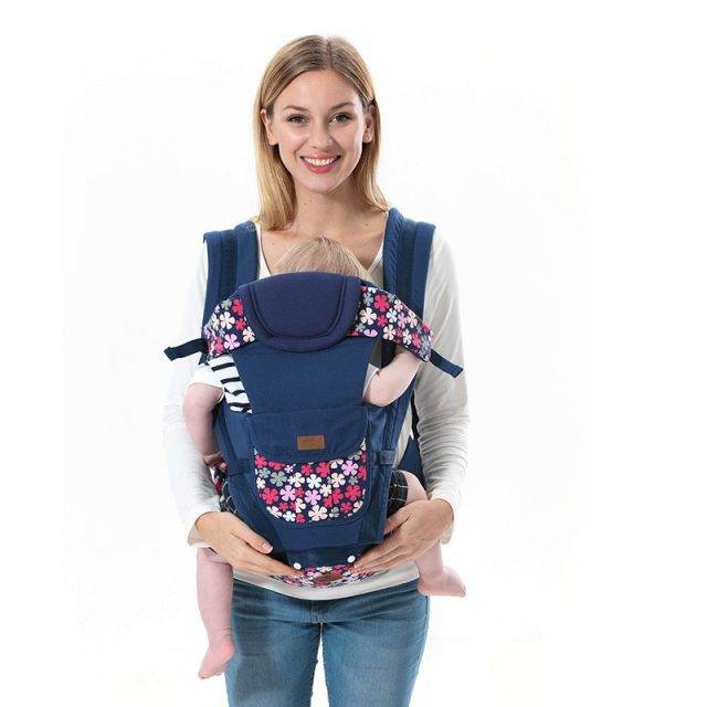 Floral Pattern Cotton Baby Sling