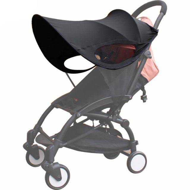 Black Sun Protector for Cradle