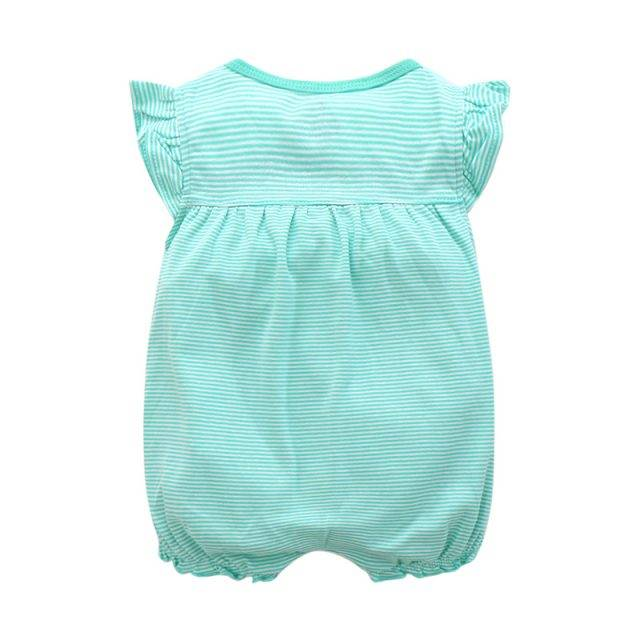 Baby's Cute Breathable Cotton Romper Active Wear